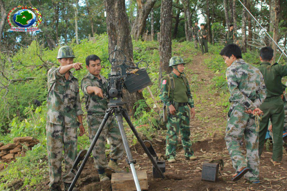 kachin and ta ang army join fight against burmese