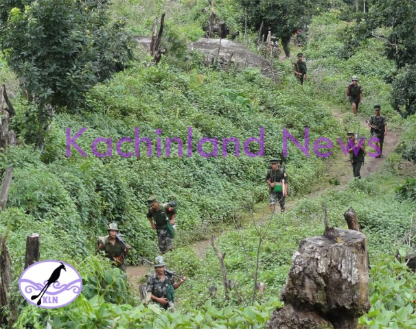 KIA troops in 3rd Brigade area